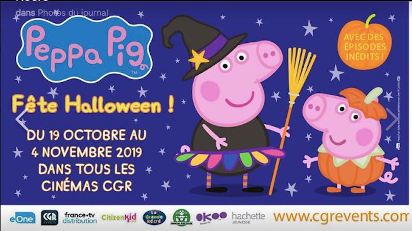 Loisirs : Peppa Pig fête Halloween au cinéma