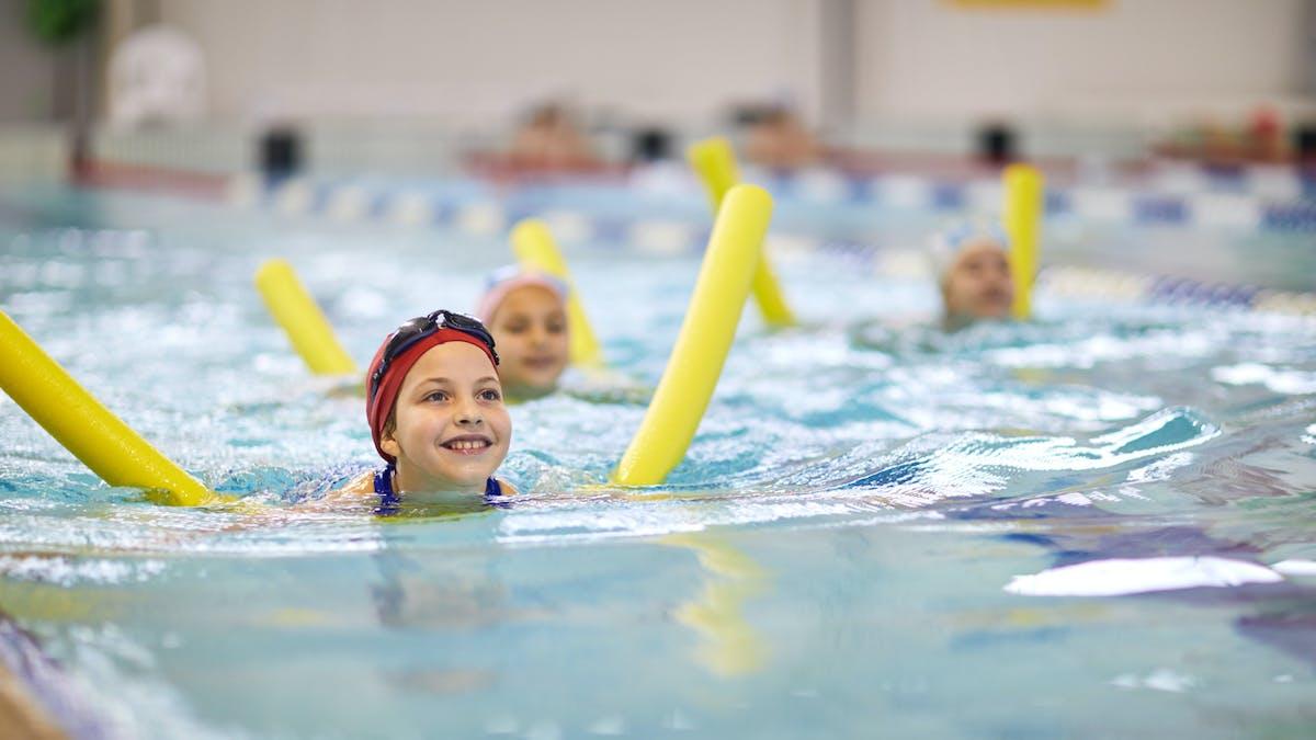 cours de natation enfants