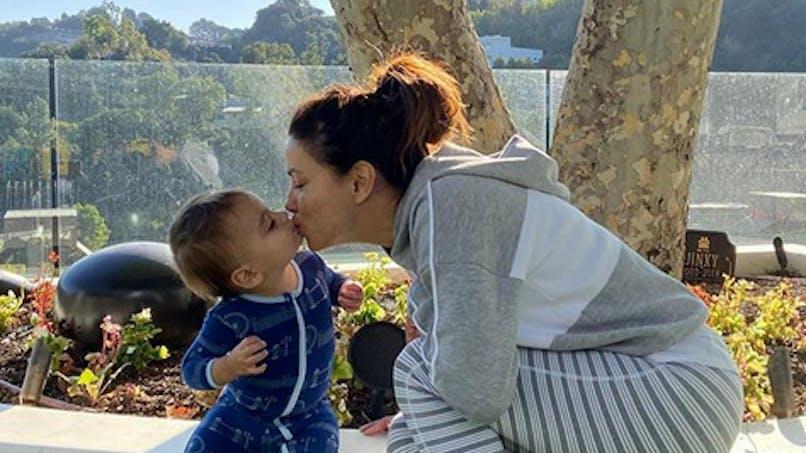 Eva Longoria, Kim Kardashian, Nabilla...le diapo des people en famille
