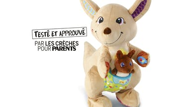 Le jouet Maman Kangou-love et son bébé de VTECH