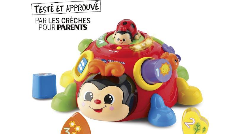 Le jouet Super Coccinelle des formes de VTECH