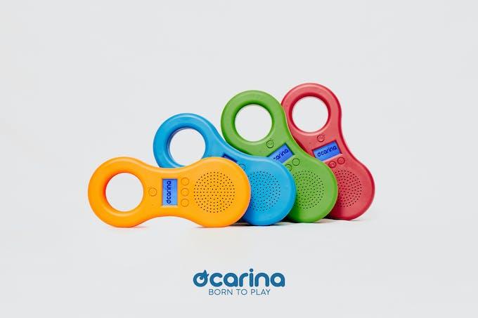 Ocarina de différentes couleurs