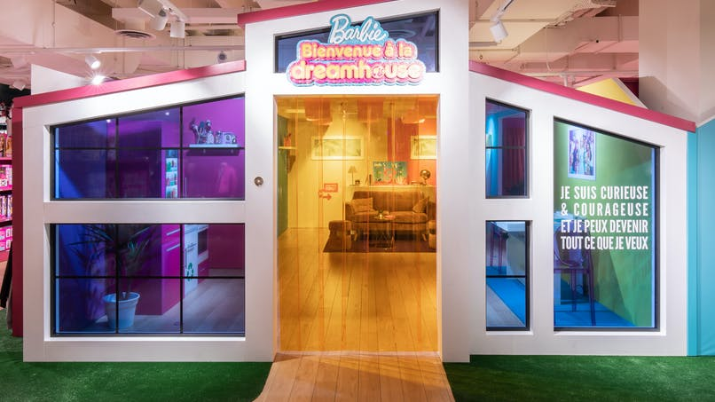 A Paris, la Maison de Barbie attend les enfants aux Galeries Lafayette !