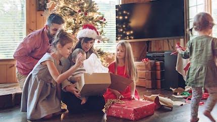 La magie de Noël dans le cœur des familles