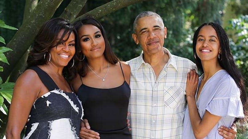 La famille Obama fête Thanksgiving, Christophe Beaugrand papa ... le diapo des people en famille