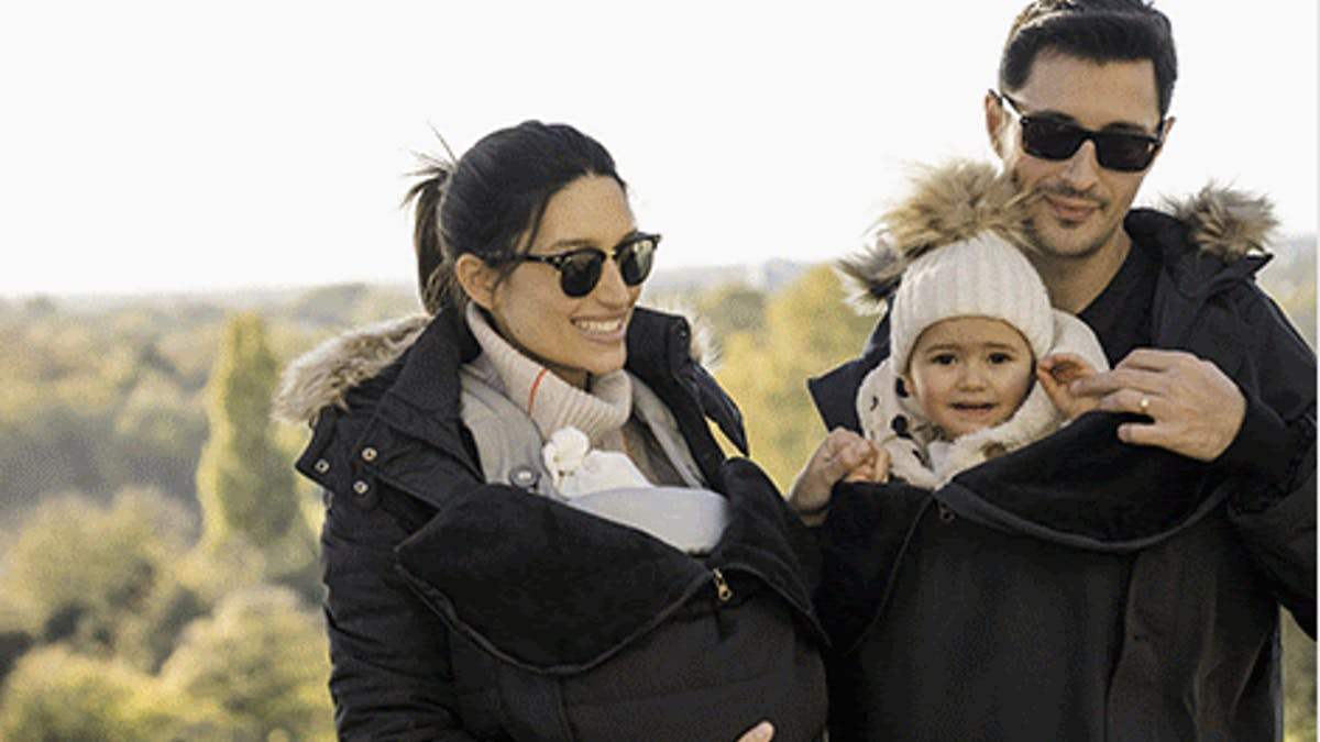 Séraphine manteau de portage bébé