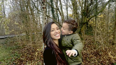 Maman et son petit garçon