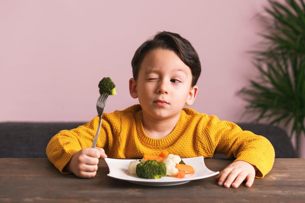 Il boude ses légumes ? Rusez avec de jolies présentations