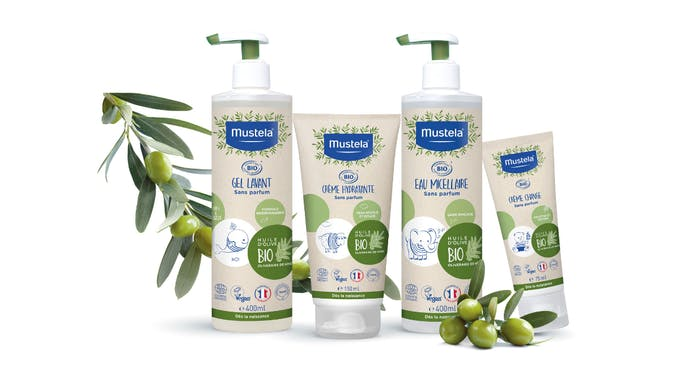 nouvelle gamme produits bio Mustela