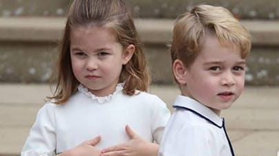 Charlotte et George de Cambridge