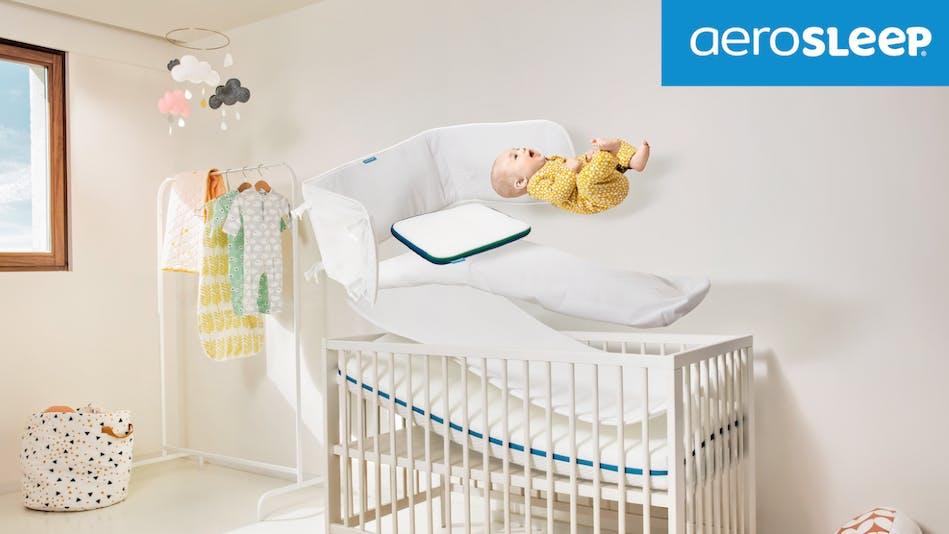 gamme de matelas, protège-matelas et oreiller pour bébé AeroSleep