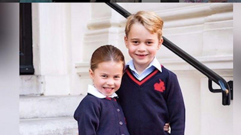 Un Noël avant l'heure pour Charlotte et George de Cambridge