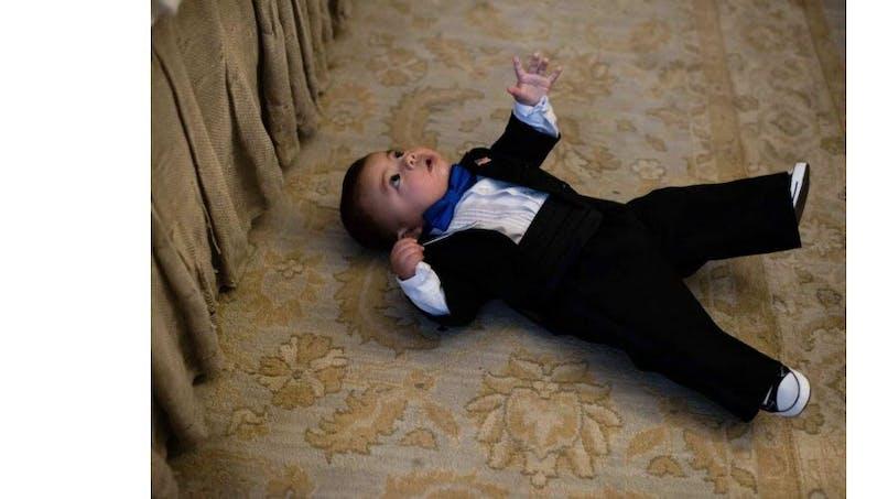 Un bébé américain de 7 mois, nommé maire au Texas