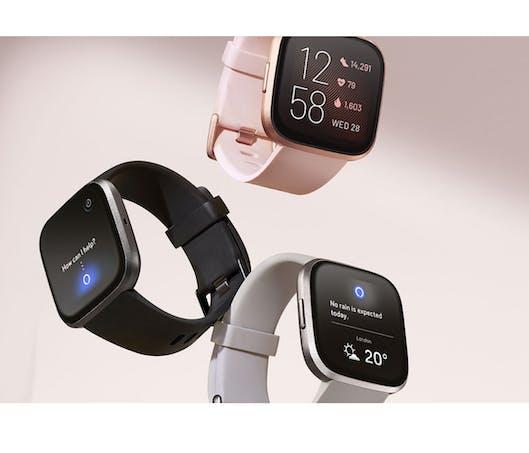 La montre connectée Forme et bien-être Versa 2 - Fitbit
