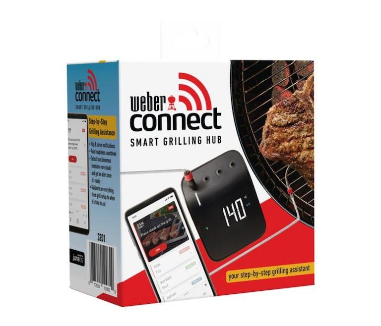 L'assistant Connect Smart Grilling Hub de Weber