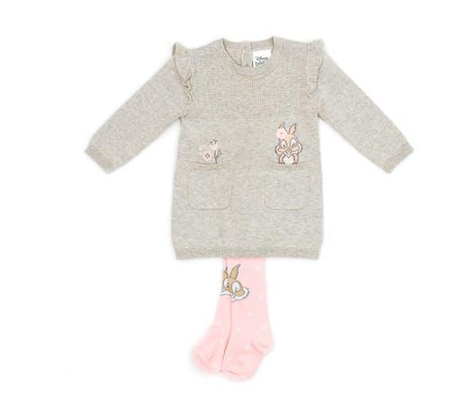 La robe et ses collants Bunny Disney