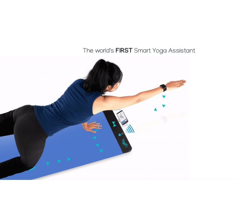 Yogifi : un tapis de yoga connecté