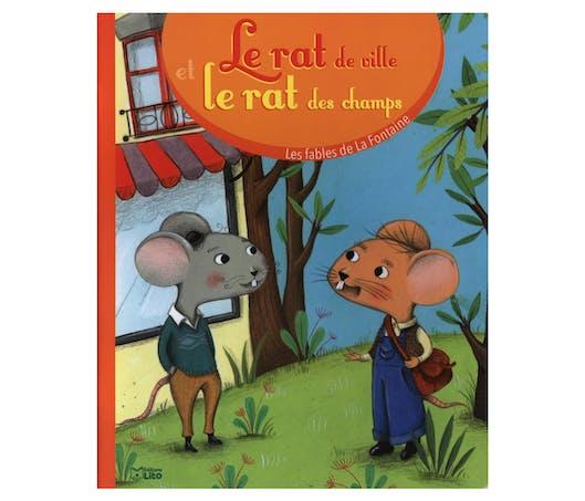 Les Fables de la Fontaine : Le Rat des villes et le Rat des champs