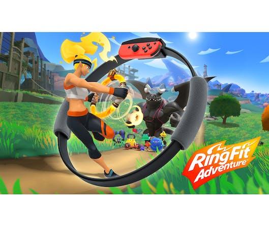 Ring Fit Adventure : jouer, c'est faire du sport !