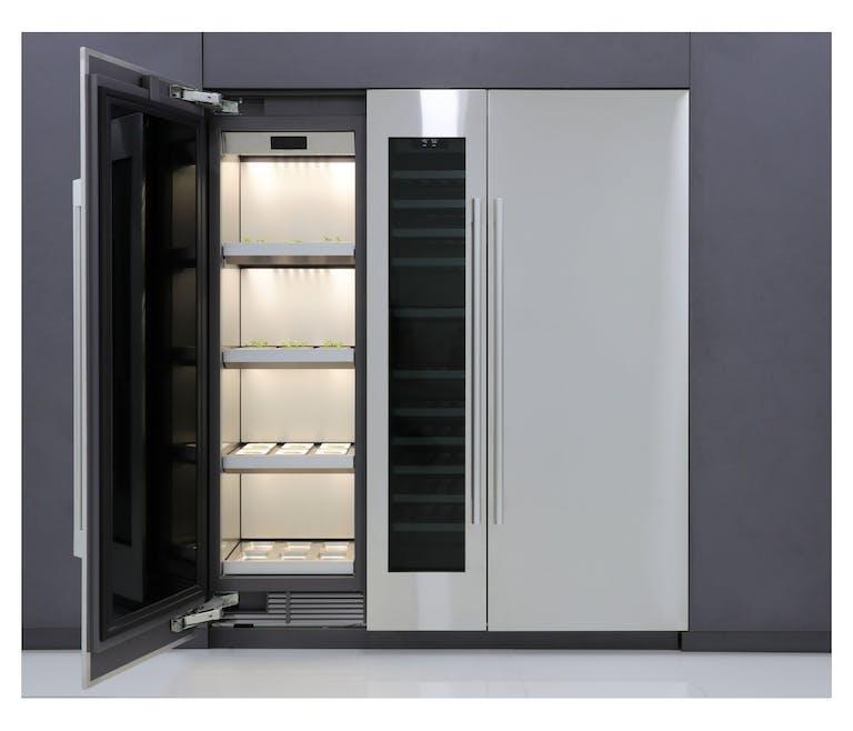 Colum Garden : le réfrigérateur potager de LG