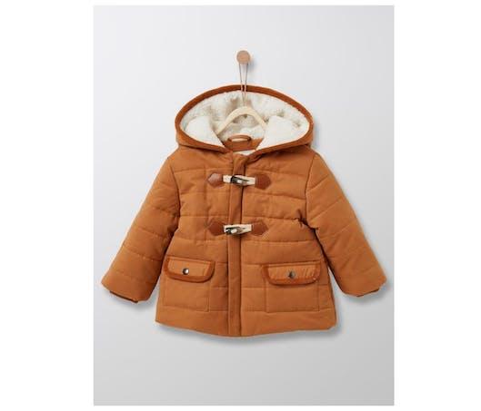 Le duffle-coat bébé