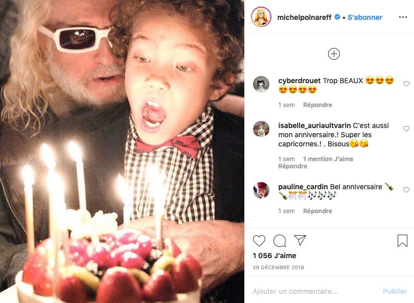 Michel Polnareff : son jeune Louka fête déjà son huitième anniversaire