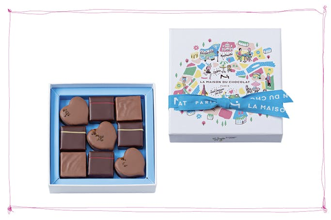 Chocolats collection «Paris je t'aime»