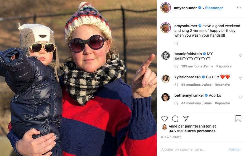 Amy Schumer : twins