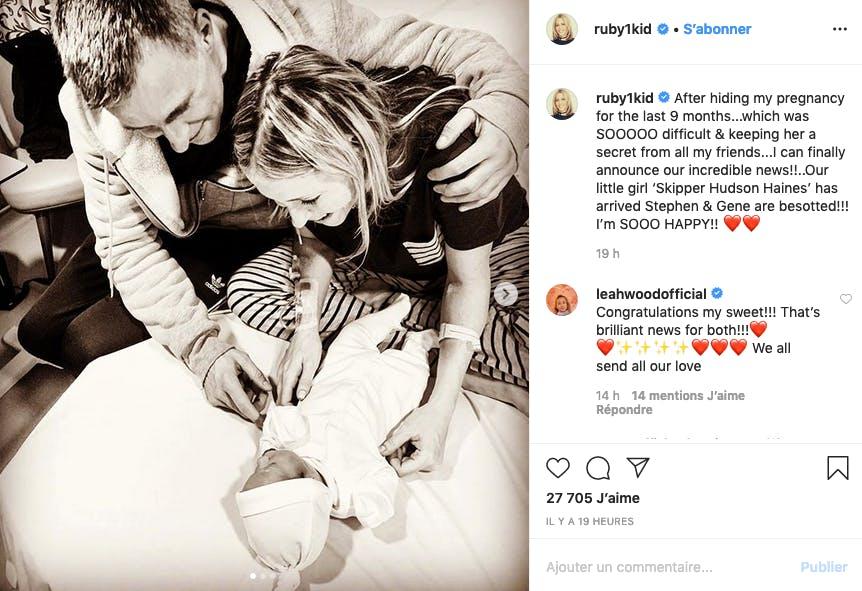 Nicole Appleton (ex All Saints) a eu un bébé à 45 ans