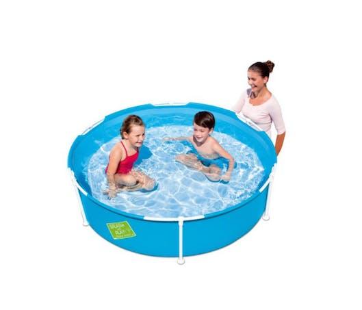 #JEUX La petite piscine de jardin