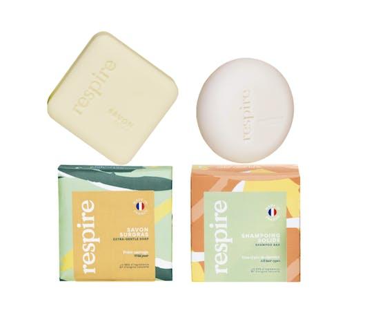 Le kit savon et shampooing solides