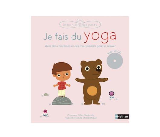 """Le Livre-CD """"Je fais du Yoga"""""""