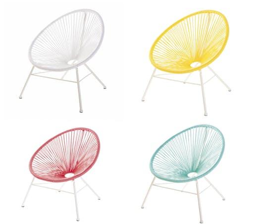 #CHAISE Le fauteuil de jardin COPACABANA