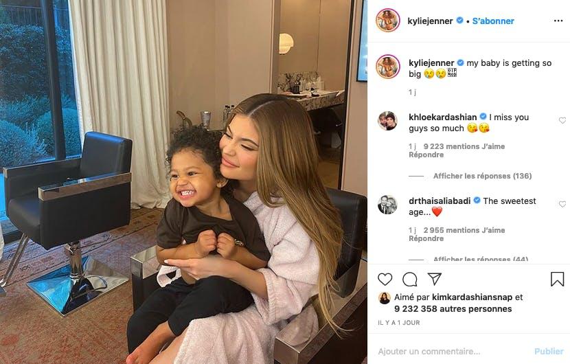Kylie Jenner et Stormi