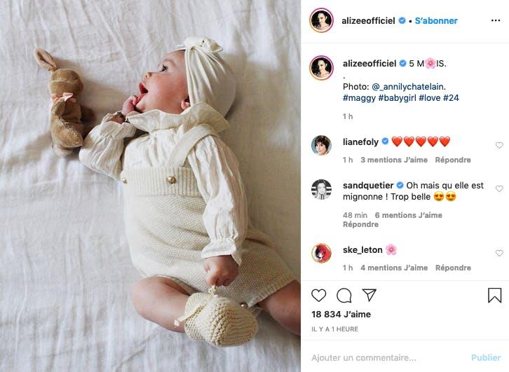 Alizée : Maggy fête ses 5 mois