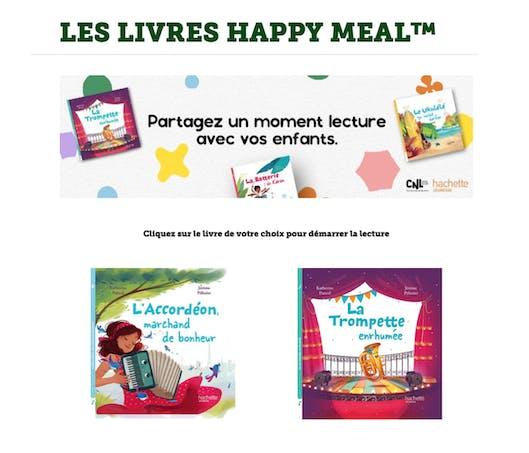 McDonald's livre pour enfants