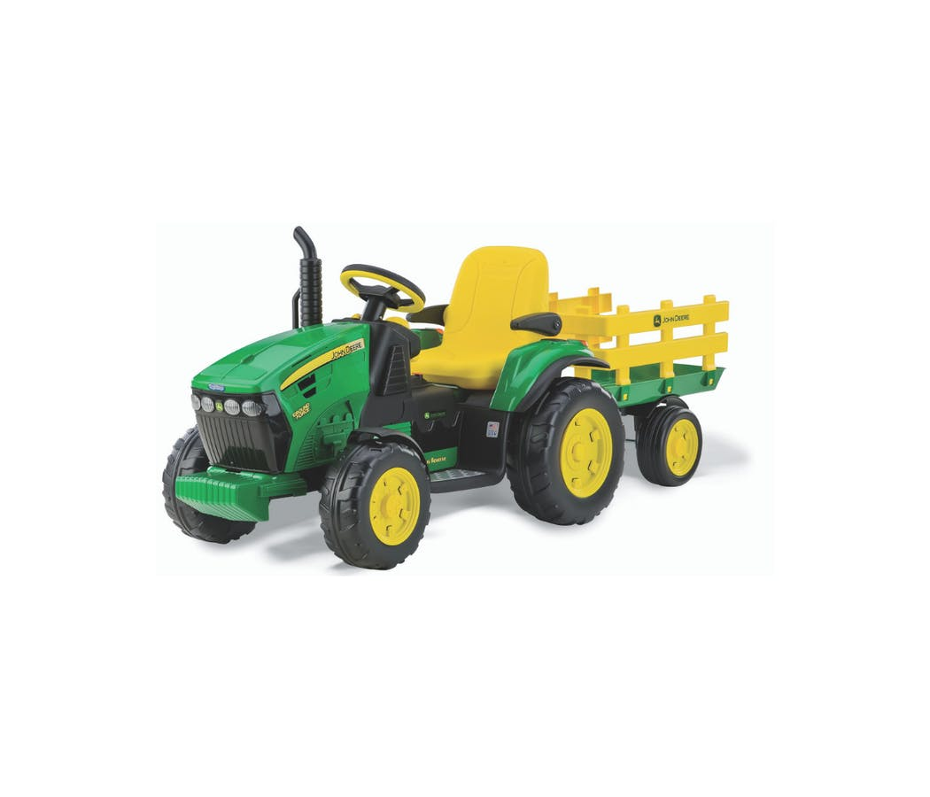 Le tracteur électrique