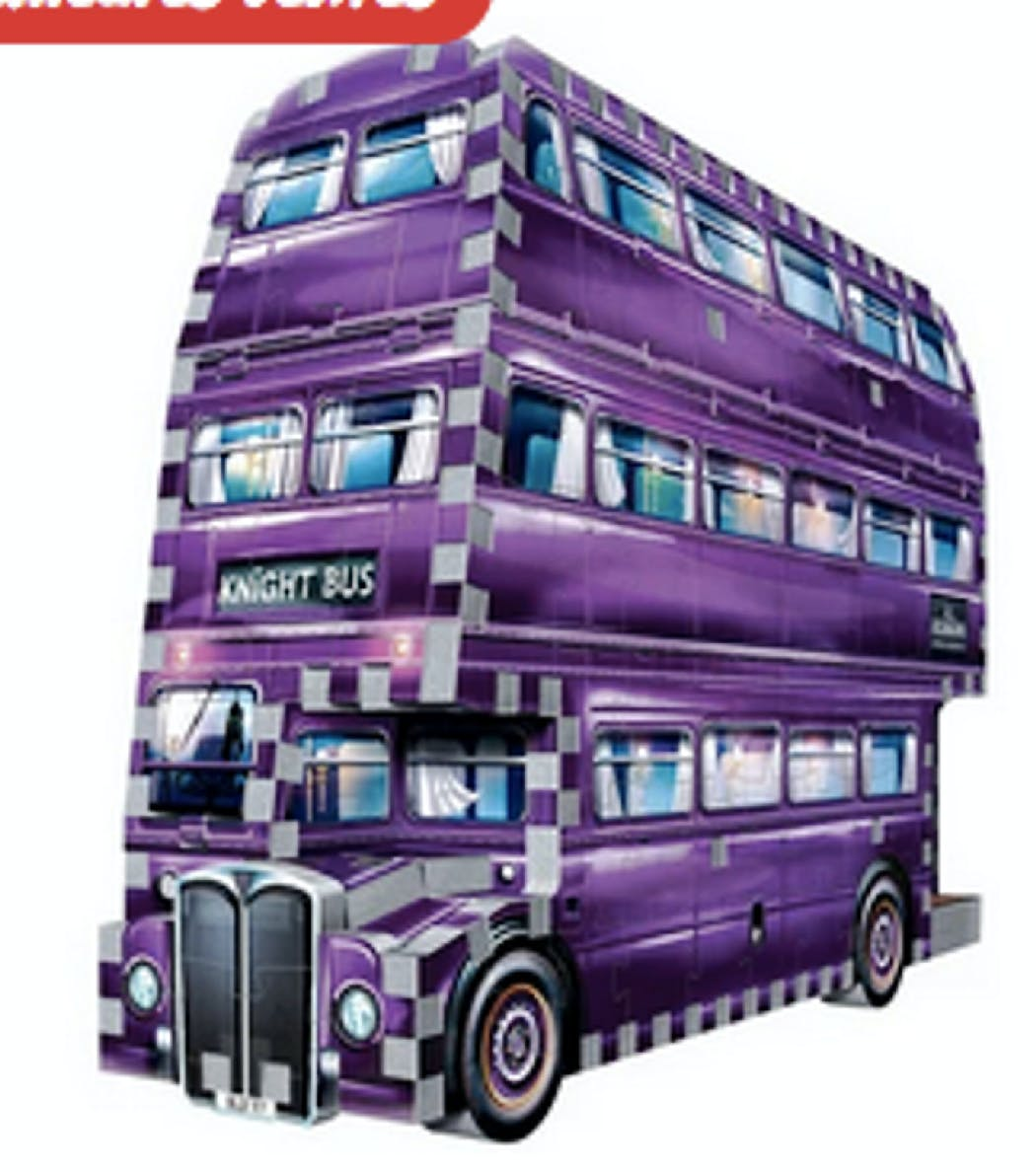 Puzzle 3D bus Harry Potter