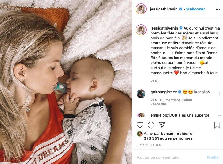 Jessica Thivenin : sa première fête des mères avec Maylone