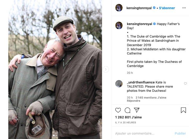 Le prince Harry et son père le prince Charles