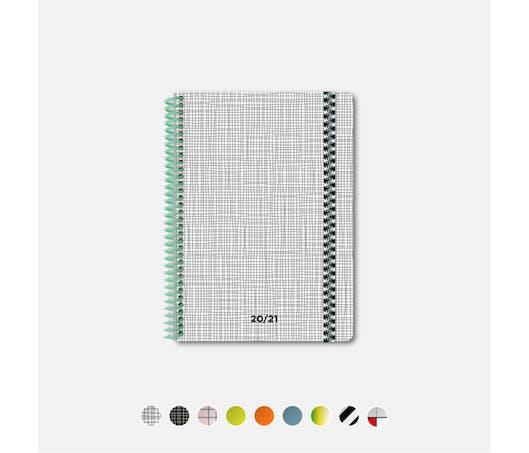 #ORGANISER L'agenda 2020-21 en papier recyclé