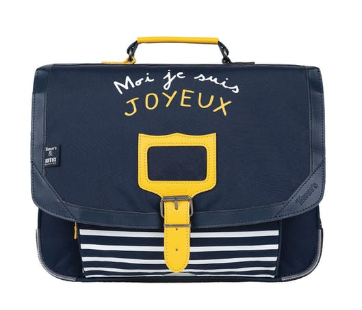 #TRANSPORTER Le cartable Tann's x Joyeux