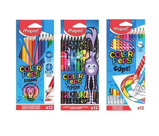 Les crayons de couleur Color'Peps