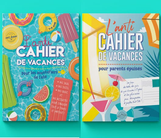 Les anti-cahiers de vacances