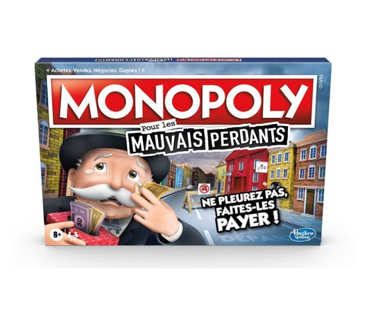 Monopoly pour les mauvais perdants