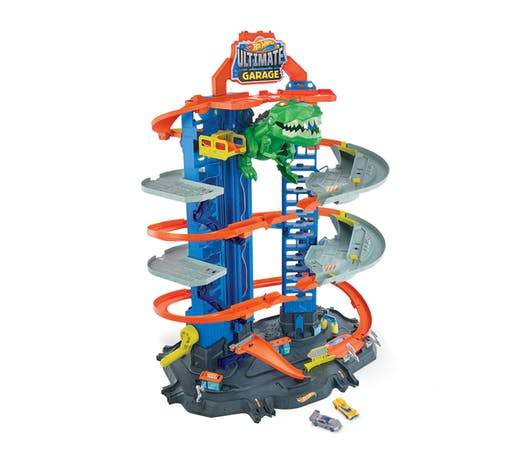 Super Dino Robot Garage Hot Wheels