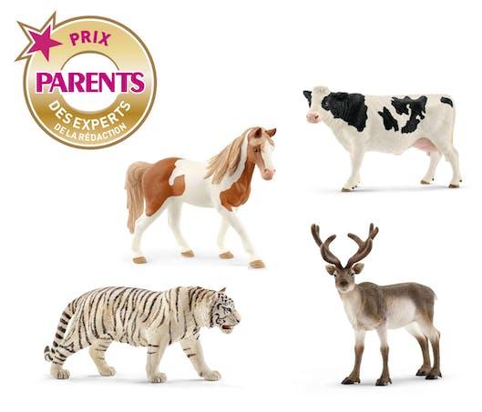 Les figurines animaux