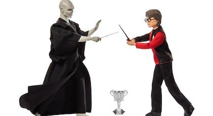 Poupées Voldemort et Harry Potter