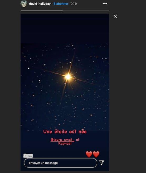 Une étoile dans le ciel