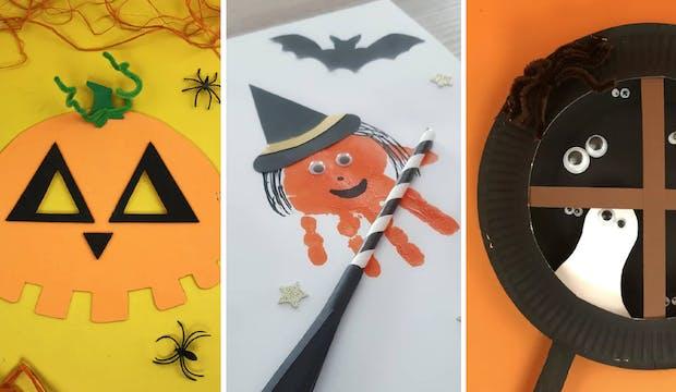 Top 15 des bricolages d'Halloween pour les kids de maternelle